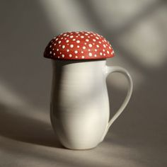Amanita Mushroom Mugs, Bowls and Plates, Oil... |