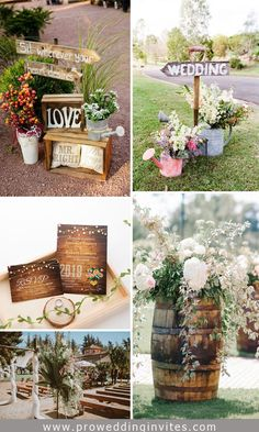 15 Perfect Outdoor Rustic Chic Country Wedding Ideas