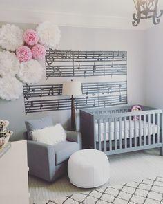 Baby Nursery Music Theme Themed Themes Ideas