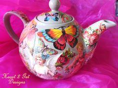 """My sweet vintage"" teapot"