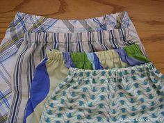 pillowcase pajama shorts tutorial