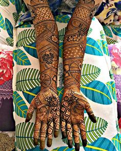 For bookings or quiries feel free to dm/mail . Kashee's Mehndi Designs, Wedding Henna Designs, Latest Bridal Mehndi Designs, Full Hand Mehndi Designs, Mehndi Design Pictures, Mehndi Designs For Girls, Engagement Mehndi Designs, Mehndi Images, Tattoo Designs