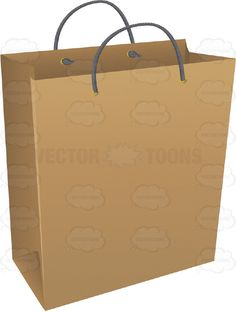 Smaller And Larger Brown Paper Shopping Bags #bags #brown #carry ...