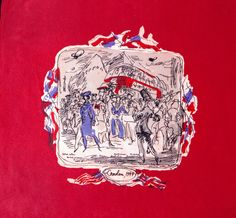 London scarf, designed by Felix Topolsky for Ascher, rayon, Courtesy Paul and Karen Rennie Collection, Folkestone Make Do And Mend, Vintage Scarf, Dionysus, 1940s Fashion, Selling On Ebay, Textile Design, Uni, Britain, Ties