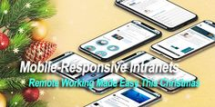 A cloud-based mobile-responsive intranet, however, means that staff and managers can stay connected and remain productive even when away from the office. Base Mobile, Mobile Responsive, Cloud Based, Make It Simple, Remote, Software, Web Design, Easy, Christmas