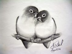 Awesome pencil drawings easy pencil drawings of love – drawing sketch library Pencil Sketch Images, Pencil Drawings Of Love, Abstract Pencil Drawings, Abstract Sketches, Pencil Sketch Drawing, Bird Sketch, Bird Drawings, Art Drawings Sketches, Animal Drawings