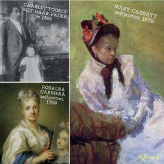 Inspiratiefoto n.a.v. de cursus Vrouwen in de beeldende kunst, aan de Volksuniversiteit. Kunst is leuk! Mary Cassatt, Movies, Movie Posters, Painting, Art, Films, Art Background, Film Poster, Popcorn Posters