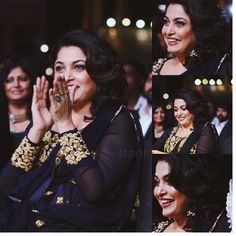 oh my goodness look at her what a freakin' cutie some candid moments from #iifautsavam Day 2! (Telugu & Kannada)  she's such a doll - #RamyaKrishnan #ramyafc #iifautsavam2016 #telugu #kannada #tollywood #kollywood #bollywood by ramyafc