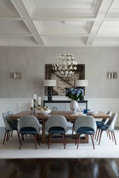 Get The Look 20 Mid Century Modern Glamorous Dining Room Design