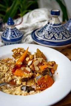 How to Make Autumn Vegetable Tagine, I would add chicken but this looks delicious