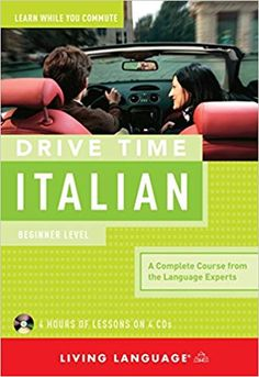 Get an introduction to the Italian language while you commute! Learn Italian in your car or anywhere you can play a CD! Drive Time Italian , a course from the linguists at Living Language, is the easi Italian Verbs, Italian Grammar, Italian Vocabulary, Vocabulary List, Italian Language, German Language Learning, Foreign Language, Drive Time, Student Guide