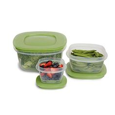 Rubbermaid Produce Saver Food Storage Container 6-Piece Set