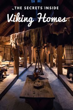 Viking Homes Were Stranger Than Fiction: The secrets inside a viking house.