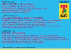 T in the Park 2014