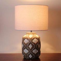 Balinese Resin Table Lamp