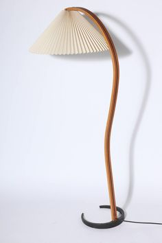 Early Mads Caprani Bentwood Floor Lamp | From a unique collection of antique and modern floor lamps at https://www.1stdibs.com/furniture/lighting/floor-lamps/