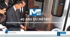 Vu sur le Web Les 40 ans du métro de Bruxelles