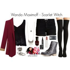 Marvel Comics • Avengers • Scarlet Witch // Wanda Maximoff Inspired Outfit