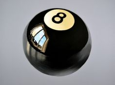 Eight Ball, Acrylic painting by Peter Slade | Artfinder