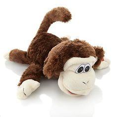 (Noah) Crazy Critters Motion-Activated Laughing and Rolling Monkey at HSN.com.