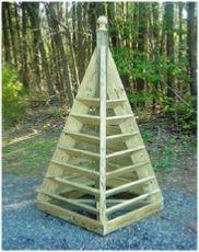6 ft. pyramid strawberry planter