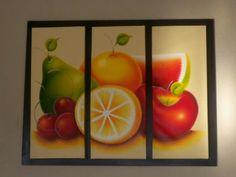 cuadros para la cocina con frutas