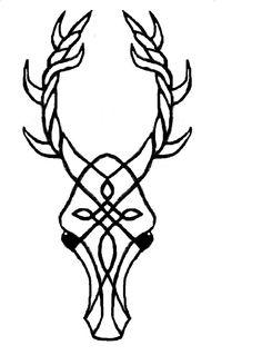 stag head - Cernunnos by corvus-corone-corone