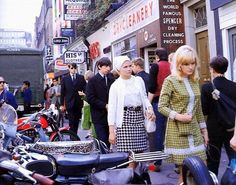 Carnaby Street in the early 1960s