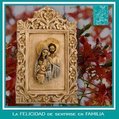 💕 ¡Nos encanta esta representación de la #SagradaFamilia! 💕