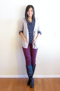 I think this would help me get over my fear of dots and colors. | Stitch Fix Me https://www.stitchfix.com/referral/3386604