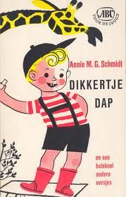 Annie M. Schmidt - Dikkertje Dap - book cover 1961 - illustration by Wim Bijmoer Schmidt, My Childhood Memories, Sweet Memories, Good Old Times, Cartoon Network Adventure Time, Children's Literature, Old Tv, Children's Book Illustration, Love Book