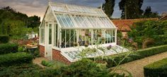 A National Trust Scotney greenhouse in Wood Sage