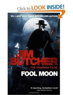 Fool Moon: The Dresden Files Book Two: Amazon.co.uk: Jim Butcher: Books