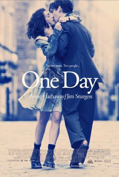 One Day, Jim Sturgess and Anne Hathaway    I'm so in love with this cover. Always been, since the first time i saw it <3