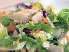 Chinese Chicken Salad recipe from Ellie Krieger via Food Network