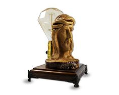 Home Decor lighting Fixtures / Wooden Desk Lamp / by BlessRay