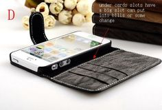 iPhone 5/5s /Wallet Case / iPhone 4  Wallet by LeatherWalletStyle, $21.00