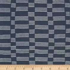 Lotta Jansdotter Lucky Etapp Midnight Navy from @fabricdotcom  Designed by Lotta Jansdotter for Windham Fabrics, this cotton print fabric is perfect for quilting, apparel and home decor accents. Colors include shades of grey.