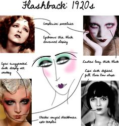 How to 1920's Makeup Daniel Sandler: Flashback 1920's Makeup http://www.danielsandler.com/blog/2012/10/05/flashback-1920s-makeup/
