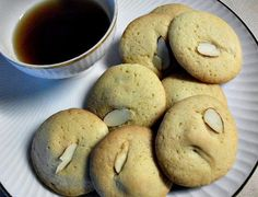 Almond Filled Cookies by CookieCircles on Etsy, $12.00
