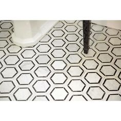 Itona Tile Harrison x Natural Stone Mosaic Tile in Marble Black and White Stone Mosaic Tile, Marble Mosaic, Mosaic Wall, Mosaic Glass, Wall Tiles, Backsplash Tile, Mosaic Mirrors, Stained Glass, Ceramic Subway Tile