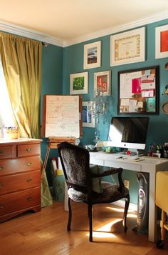 Color Teal Crazy: A Dream of Repainting the Bedroom - Wifely Steps