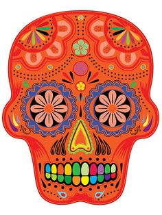 Sugar skulls for the day of the dead by nadil #sugarskull