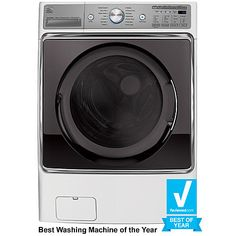 DECIDED Kenmore Elite 41072 5.2 cu. ft. Front-Load Washer - White