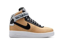 e7effb0f6e Nike Air Force 1 Mid SP   TISCI Vachetta Tan Black 677130-200 Homens