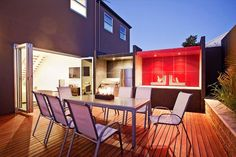Tagged as Indoor-Outdoor, Outdoor Living, Outdoor Table. More inspiration at www.spaced.com.au