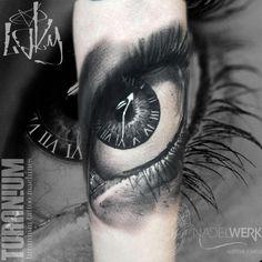 Eye Tattoo by Laky's Tattoo