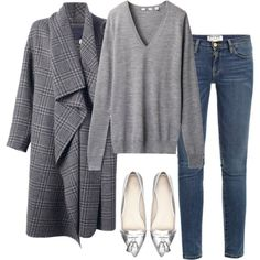 Love the coat and shoes.
