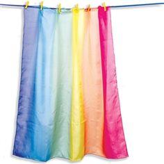 Sarah's Silks - Rainbow Playsilk - Timberdoodle Co (maybe make one)