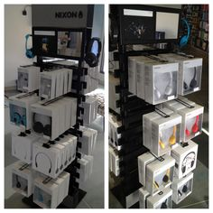 We now carry Nixon headphones in both of our stores